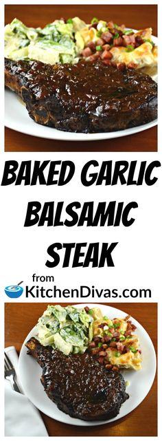 This is a fabulous steak recipe. We love the method. Ken is difficult to cook a steak for, usually he barbecues. I hate barbecuing myself. He was so shocked the first time he ate one of my baked steaks. Yes shocked. He couldn't believe how much he loved it! You will too!