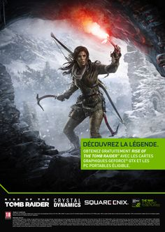 NVIDIA, Rise Of The Tomb Raider, A3 Poster.