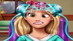 Em Princesa Rapunzel Cirurgia na Cabeça, nossa linda princesa Rapunzel sofreu um acidente e machucou a sua cabeça. Agora ela precisa fazer uma cirurgia na cabeça, e você é quem irá cuidar dela. Para isso, basta seguir o que o doutor disser, passo a passo. Use suas habilidades de medica e cuide de nossa princesa para que ela se recupere logo. Divirta-se!
