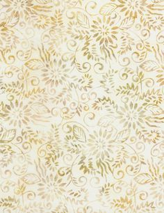 """11.5 Yards in Stock - 106"""" Wide Batik Backing - Timeless Treasures - XTonga Coconut Quilt Backing - 100% Cotton"""