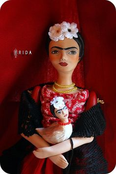 Frida Doll and Frida Bird