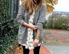fall fashion- Gray