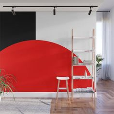 Basic Bold Adhesive Wallpaper Removable Wallpaper Wall Sticker Full Size Wall Mural Neon it