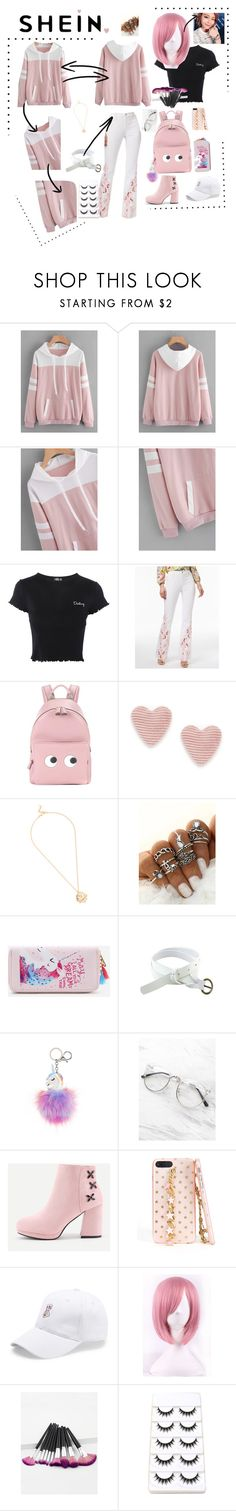 """""""Shein"""" by chantelle3798 ❤ liked on Polyvore featuring Topshop, INC International Concepts, Anya Hindmarch and shein"""
