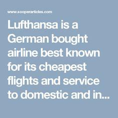 16 best lufthansa images on pinterest air flight tickets airfare book cheapest flight deals at lufthansa airlines fandeluxe Images