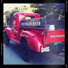 Beer & Pickup trucks