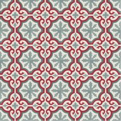 Moroccan Encaustic Cement Pattern Pre Sealed 03j