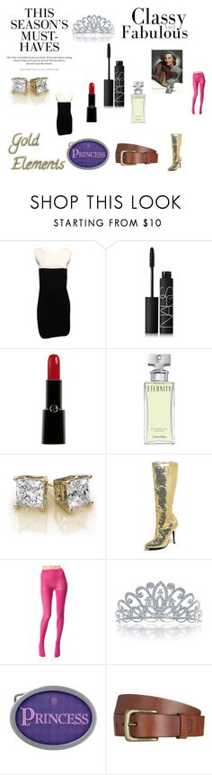 """Makeup 33"" by chrisone ❤ liked on Polyvore featuring Chanel, NARS Cosmetics, Giorgio Armani, Calvin Klein, Betsey Johnson, Bling Jewelry, H&M and Will Leather Goods"