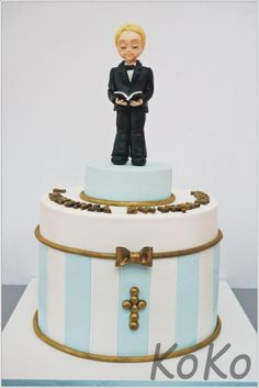 first Holy Communion - Cake by KoKo