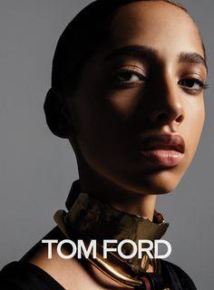 Yasmin Wijnaldum for Tom Ford Beauty fall-winter 2016