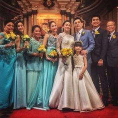 Photo together as one family. Bridesmaid Dresses, Wedding Dresses, Favorite Tv Shows, Perfect Wedding, Wedding Events, Platform, August 15, Heart, Instagram
