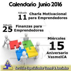 Información de nuestras actividades al 0416-548.72.38 Sorpresas para el Miércoles 15 reserva la fecha con tu asesor y participa en nuestra promoción aniversario.