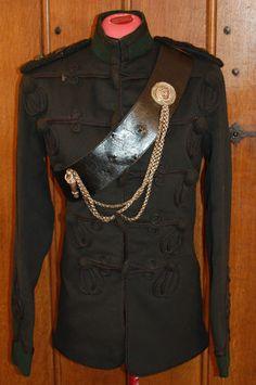 Royal Irish Rifles Lt Colonels Officers Full Dress Tunic | eBay