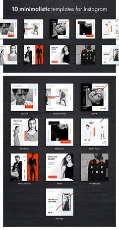 Hype Monger Social Media Pack - Simple shapes and color palette, pure logic and . - Social Media Design - Hype Monger Social Media Pack – Simple shapes and color palette, pure logic and comprehensive des - Social Media Branding, Social Media Ad, Social Media Banner, Social Media Template, Social Media Design, Social Media Graphics, Instagram Design, Instagram Grid, Instagram Lifestyle