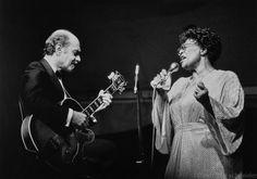 Ella Fitzgerald et Joe Pass