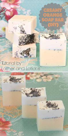 Creamy Orange Soap Bar & Bath Salt