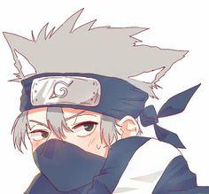 Kakashi Hatake (Sharingan no Kakashi) Kakashi Sharingan, Naruto Kakashi, Anime Naruto, Naruto Cute, Naruto Shippuden Anime, Otaku Anime, Anime Boys, M Anime, Naruto Mignon