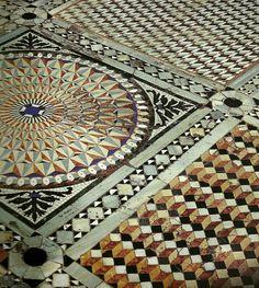 Marble Mosaic, Mosaic Art, Mosaic Tiles, Floor Patterns, Mosaic Patterns, Venice Travel, Byzantine, Archaeology, Fresco