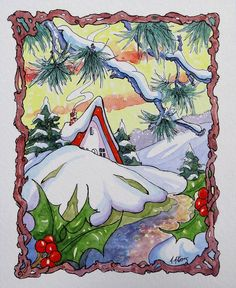 A Gentle Winter Morning Storybook Cottage Series