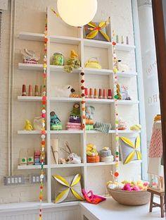 children's room shelf
