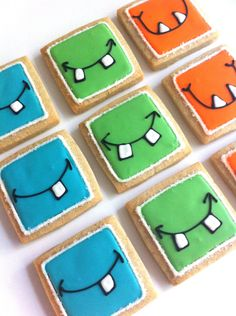 Monster Grin Cookies (1 dozen). $36.00, via Etsy.
