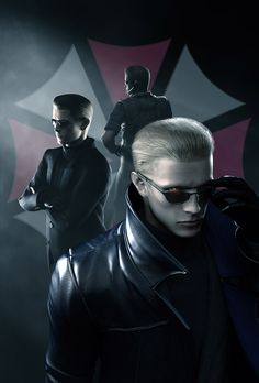 View an image titled 'Wesker Promo Art' in our Resident Evil: The Umbrella Chronicles art gallery featuring official character designs, concept art, and promo pictures. Albert Wesker, Resident Evil 5, Jill Sandwich, Umbrella Corporation, Evil World, Evil Villains, Best Horrors, Live Action Film, Marvel Vs