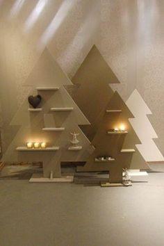 Portfolio - Categorie: Meubels van andere houtsoorten - Foto: Kerstbomen (mdf)