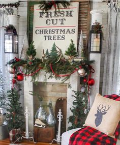 """3,454 Likes, 69 Comments - Jodie & Julie: Twin Sisters (@jodie.thedesigntwins) on Instagram: """"Vintage Farmhouse Christmas Inspiration Alert!! I'm back from my 24 hour whirlwind trip to…"""""""