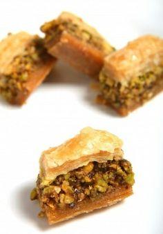 Pistachio Baklava Recipe - How to Make Pistachio Baklava