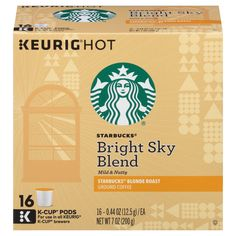 Starbucks Bright Sky Blend Blonde Roast - K-Cup Pods - 16ct