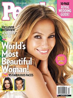 People's Annual 'Most Beautiful' Issue - 2011: Jennifer Lopez