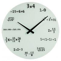 Zegar matematyka - dla umysłów ścisłych i nie tylko  #zegar