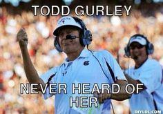 2014 USC (38) vs. Georgia (35) at Williams Brice Stadium....Todd Gurley, never heard of her.