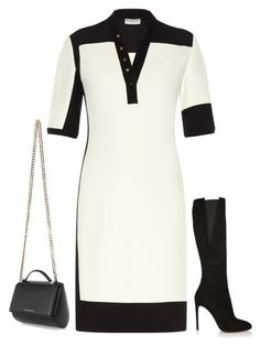 Untitled #3093 by injie-anis on Polyvore featuring мода, Balenciaga, Alaïa and Givenchy
