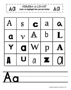This page contains affiliate links. Read Full Disclosure Welcome! I hope you enjoy these FREE activities that are geared for year olds. Alphabet Activities This is an easy way to teach childre… Teaching Handwriting, Handwriting Alphabet, Teaching Letters, Preschool Letters, Alphabet Letters, Quiet Time Activities, Alphabet Activities, Free Activities, Motor Activities