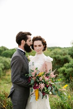 irish-purple-mustard-yellow-grey-fall-spring-wedding-inspiration-4