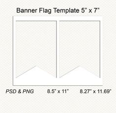 Pin By Lavanda On Digital Templates    Pennant