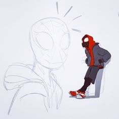 Miles Morales 🕷 The Sony Spider-Man trailer looks awesome! By wadepatrick Black Spiderman, Spiderman Spider, Amazing Spiderman, Spider Gwen, Miles Morales, Marvel Art, Marvel Comics, Arte Sketchbook, Spider Verse
