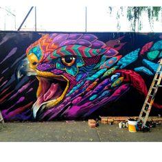 Farid Rueda Murals Street Art, Graffiti Murals, Graffiti Wallpaper, Graffiti Painting, Street Art Graffiti, Graffiti Ideas, Graffiti Cartoons, Graffiti Artists, Graffiti Lettering
