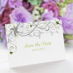 Save the Date Karte Hochzeit Liebesranken: https://www.meine-hochzeitsdeko.de/save-the-date-karte-hochzeit-liebesranken