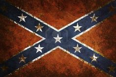 Southern Flag   ... Close Up Of Confederate Flag Grunge Background Royalty Free Wallpaper