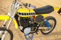 Yamaha HL TT 500 restoration by  Barracuda Racing