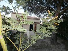Abritel location villa à St Cyprien Plage. Belle villa de vacances 70 M2 4 pieces, climatisée,wifi gratuit,500m de la plage