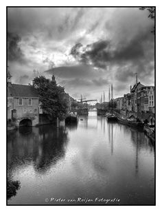Delfshaven, Rotterdam 1. Rotterdam Delfshaven on a rainy day Made with Fuji…
