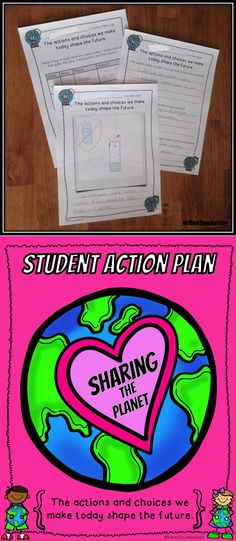 Perfect to help motivate students to start taking action on Earth Day.  This activity packet challenges students to start making a difference in the world.