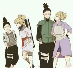 Shikamaru and Temari (Shikamari is the best thing ever!!!)