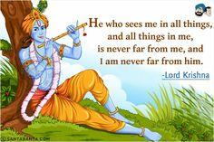 Krishna Mantra, Radha Krishna Quotes, Radha Krishna Pictures, Krishna Art, Krishna Leela, Jai Shree Krishna, Radhe Krishna, Gita Quotes, Sanskrit Quotes