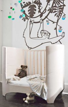 Leander Bed. It's a cot that converts into a bed. It has six phases which takes your child from newborn through until about 4.