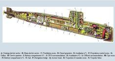 Diesel 70's agosta-cutaway