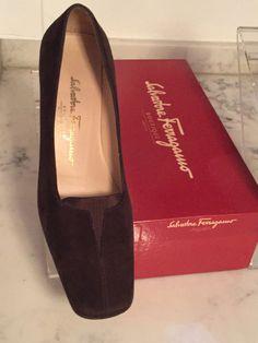 c5e09f499abb SALVATORE FERRAGAMO Women s Shoes BROWN SUEDE